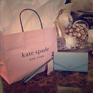NWT Kate Spade Laurel Way iPhone Wristlet